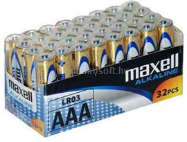 MAXELL Alkálielem LR-3 AAA 32db-os 790260.04.CN small