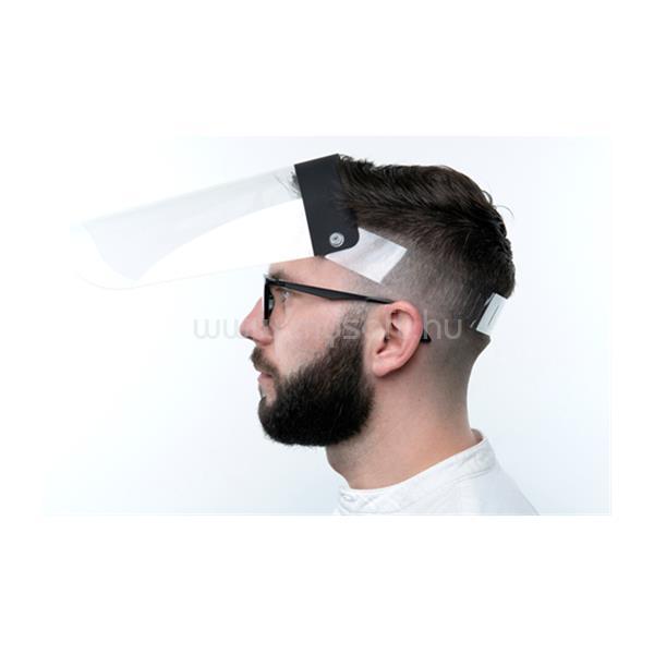 MEDIA-TECH VALUE 3mk Pro plexi arcvédő pajzs felhajtható (arcmaszk, maszk)