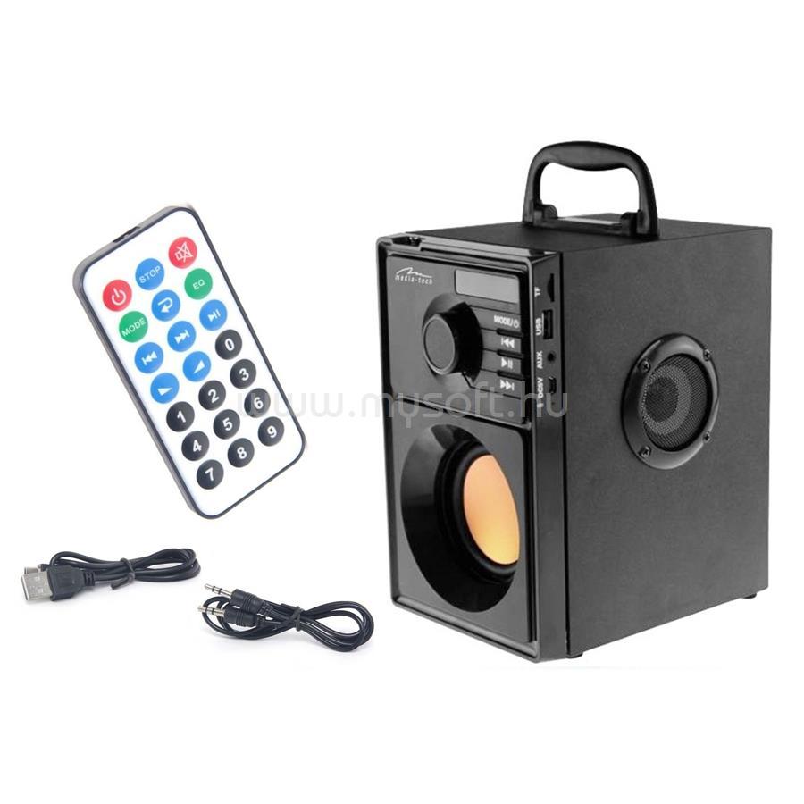MEDIA-TECH BOOMBOX BT Hordozható hangszóró távirányítóval MT3145 large