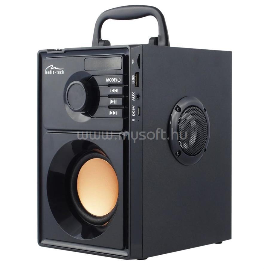 MEDIA-TECH BOOMBOX BT Hordozható hangszóró távirányítóval