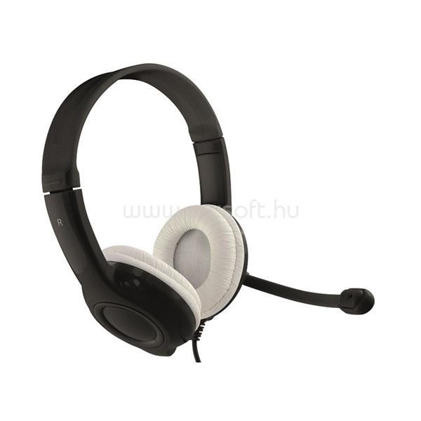 MEDIA-TECH Fejhallgató Epsilion USB,Mikrofon