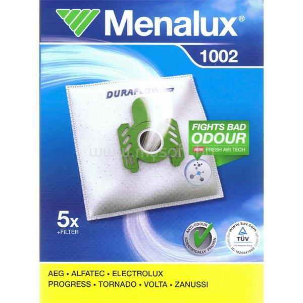 MENALUX 1002 5 db szintetikus porzsák + 1 mikroszűrő