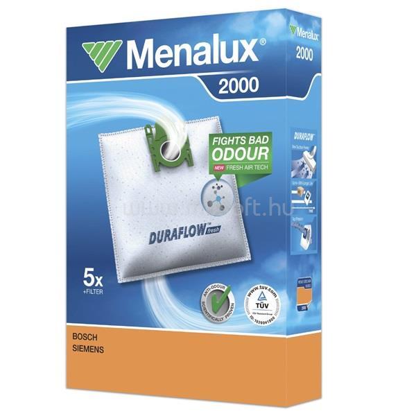 MENALUX 2000 5 db szintetikus porzsák + 1 mikroszűrő