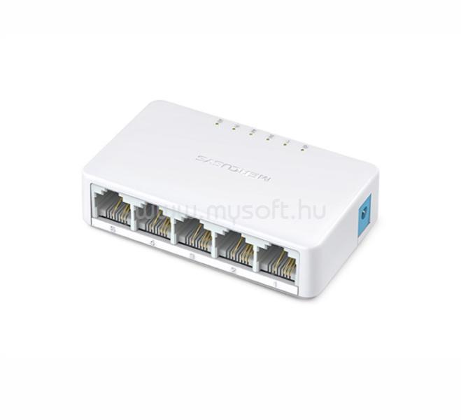 MERCUSYS MS105 5 port 10/100Mbps NEM menedzselhető asztali Switch