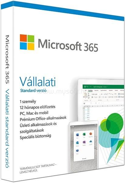 MICROSOFT Office 365 Business Standard HUN (1 év)