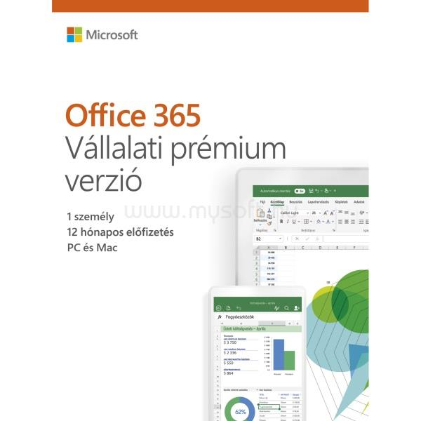 MICROSOFT Office 365 Business Premium HUN (1 év)