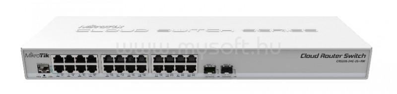 MIKROTIK Cloud Router Switch 326-24G-2S+RM with 800 MHz CPU, 512MB RAM, 24xGigab
