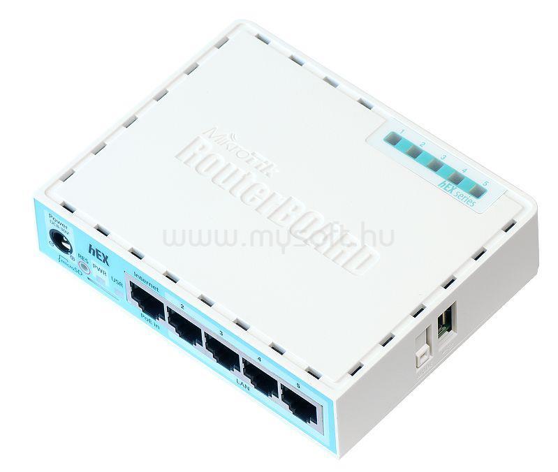 MIKROTIK Vezetékes Router RouterBOARD RB750Gr3