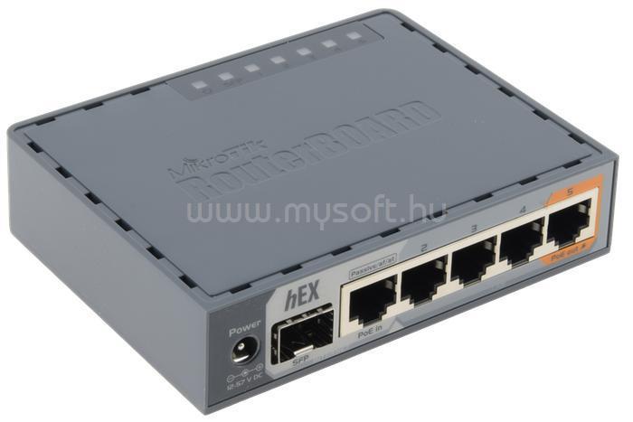 MIKROTIK HEX S RB760iGS L4 256MB 5x GbE port 1x GbE SFP router