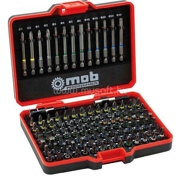 MOB PEDDINGHAUS R-9460113001 113 részes bit készlet