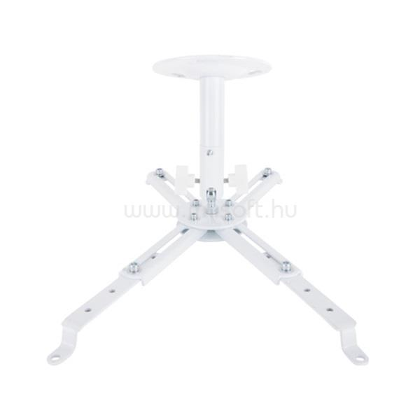 MULTIBRACKETS Projektor mennyezeti konzol III, dönthető, 180-430 mm, fehér