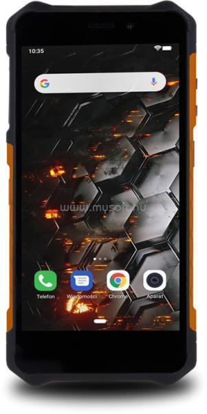 """MYPHONE HAMMER IRON 3 5,5"""" 3G 1/16GB Dual SIM fekete-ezüst csepp-, por- és ütésálló okostelefon"""