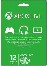 MICROSOFT Xbox Live 12 hónapos Gold Card előfizetés 52M-00547 small