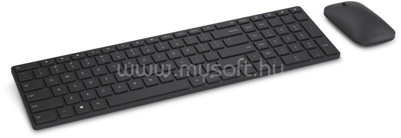 MICROSOFT Desktop Designer Billentyűzet/Egér WIRELESS, HU (fekete)
