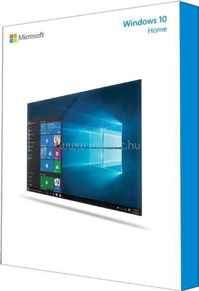 MICROSOFT Windows 10 Home 32/64-bit HUN 1 Felhasználó USB - Dobozos operációs rendszer szoftver
