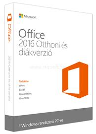 Microsoft Office Home and Student 2016 Hungarian, 79G-04333