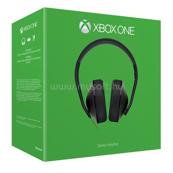 MICROSOFT Xbox One Stereo Headset - Refresh S4V-00013 large