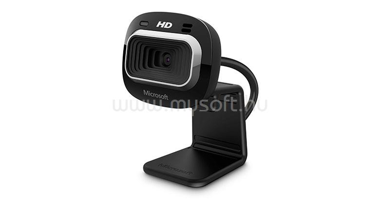 MICROSOFT LifeCam HD-3000 Dobozos 720p Fekete webkamera