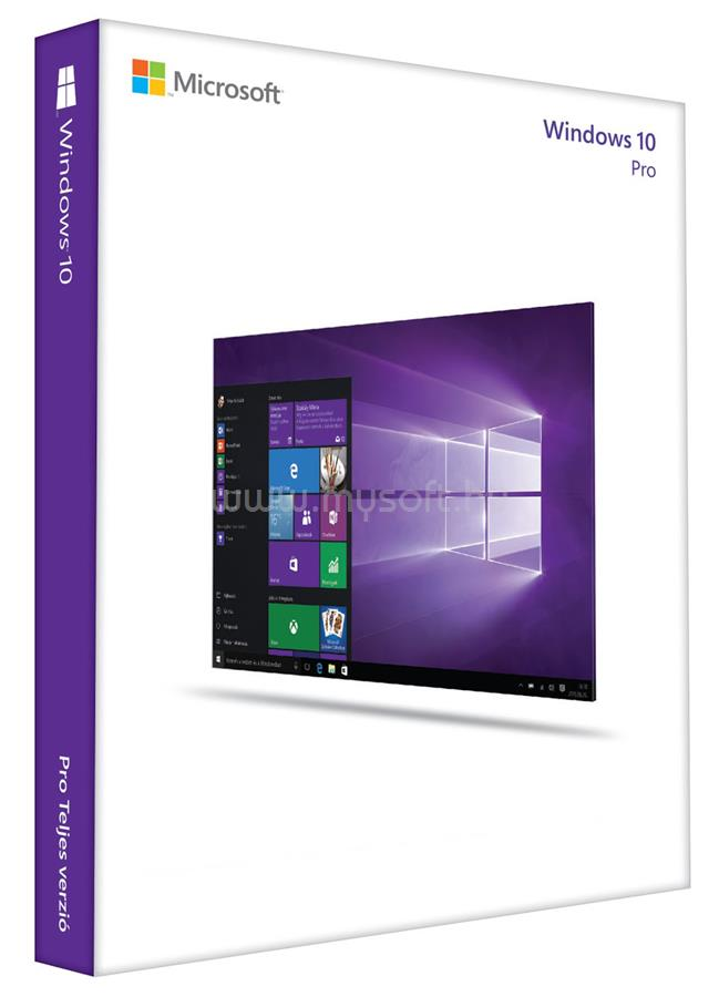MICROSOFT Windows 10 Professional 64-bit Hungarian (OEM)