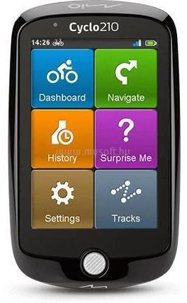 MIO Cyclo 210 full Europe GPS kerékpáros navigáció