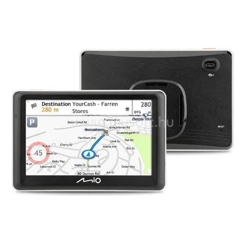 """MIO Spirit 7700 LM 5"""" GPS autós navigáció (Teljes EU térképpel)"""