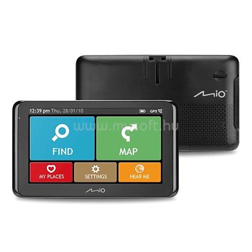 """MIO Spirit 8500 Full Europe LM 6,2"""" GPS autós navigáció"""