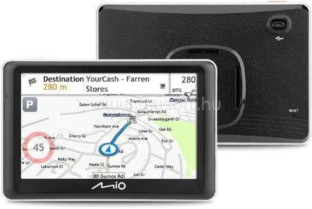 """MIO Spirit 7700 Truck Full Europe LM 5"""" GPS autós navigáció"""