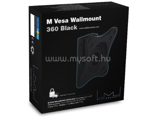 "MULTIBRACKETS M VESA Wallmount 360 Black 15""-40"""