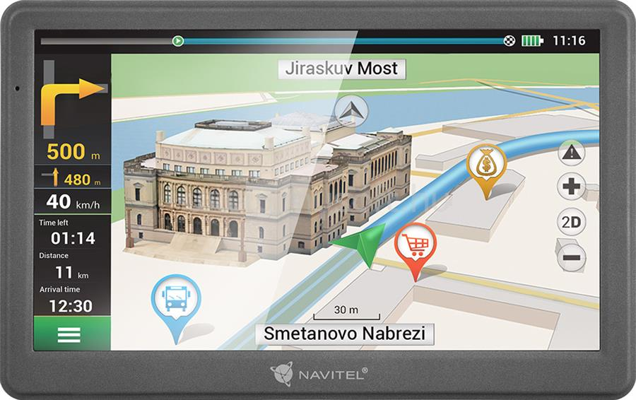 """NAVITEL E700 Full Europe LM 7"""" GPS autós navigáció"""
