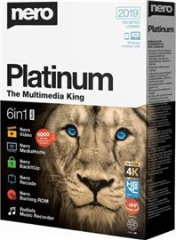 NERO Platinum 4K Multimedia Suite 2019 HUN ML dobozos szoftver, 4052272002363