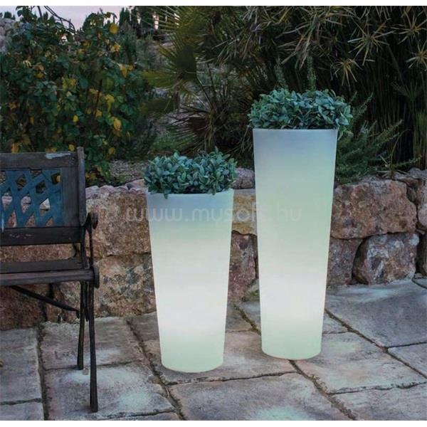 NGA NG Ficus 60 60x29cm fehér LED kaspó