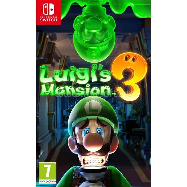 NINTENDO Switch Luigi`s Mansion 3 játékszoftver