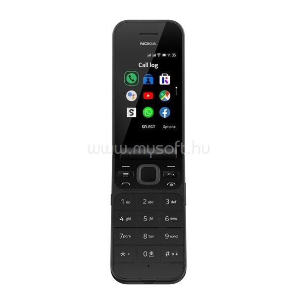 "NOKIA 2720 Flip 2,8"" Dual SIM fekete mobiltelefon"