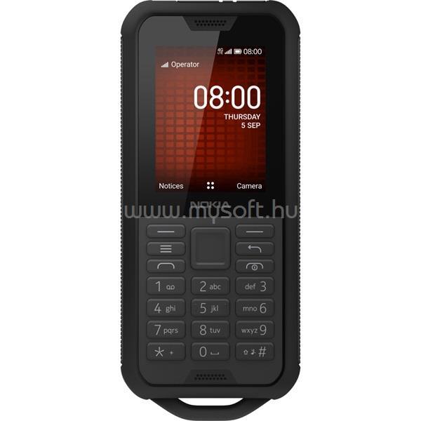 """NOKIA 800 Tough 2,4"""" 4G Dual SIM fekete csepp-, por- és ütésálló mobiltelefon"""