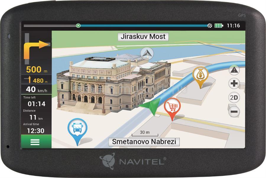 """NAVITEL E500 Full Europe LM 5"""" GPS autós navigáció"""