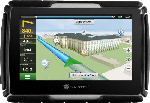 "NAVITEL G550 Moto Full Europe LM 4.3"" GPS motoros navigáció"