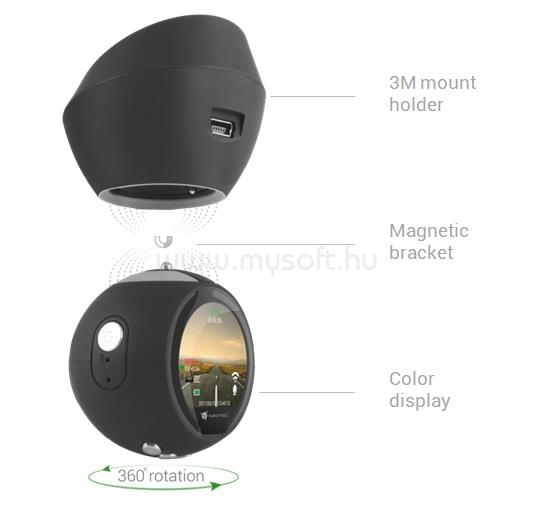 NAVITEL R1000 Full HD autós kamera R1000 large