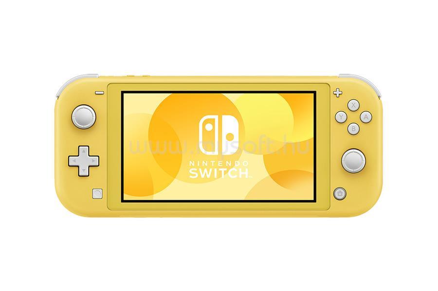NINTENDO Switch Lite játékkonzol (sárga)