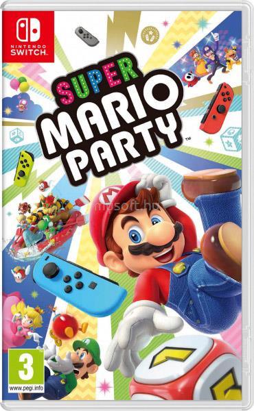 NINTENDO SWITCH Super Mario Party játékszoftver