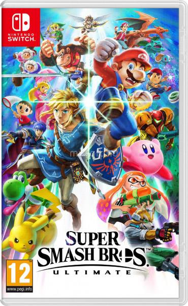 NINTENDO SWITCH Super Smash Bros. Ultimate játékszoftver