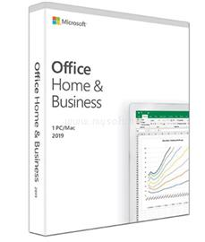 MICROSOFT Office Home and Business 2019 Hungarian, T5D-03225