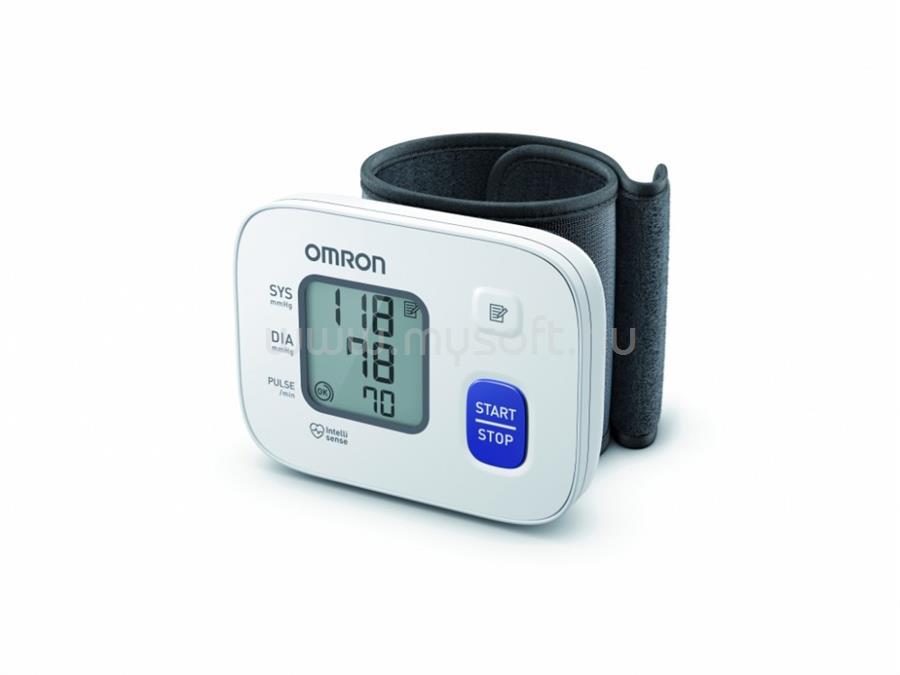OMRON RS2-6161-E csuklós vérnyomásmérő