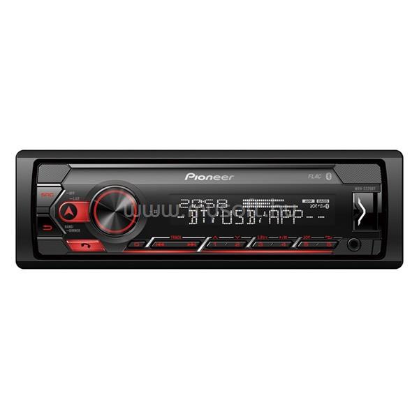 PIONEER MVH-S320BT mechanika nélküli Bluetooth/USB autóhifi fejegység