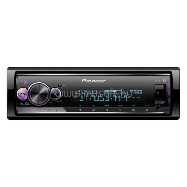 PIONEER MVH-S520BT mechanika nélküli Bluetooth/USB autóhifi fejegység