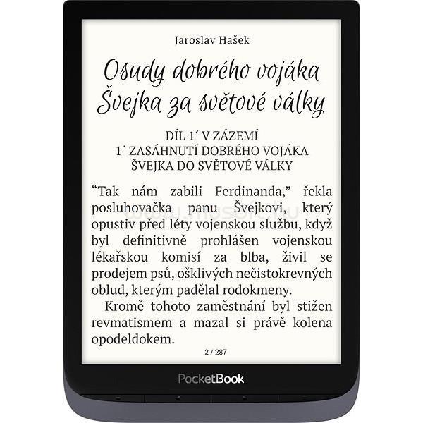 """POCKETBOOK e-Reader PB740 INKPad3 Pro Metálszürke (7,8"""" E-Ink Carta,auto. háttérv.,2x1GHz,16GB,1900mAh,wifi,mSD)"""