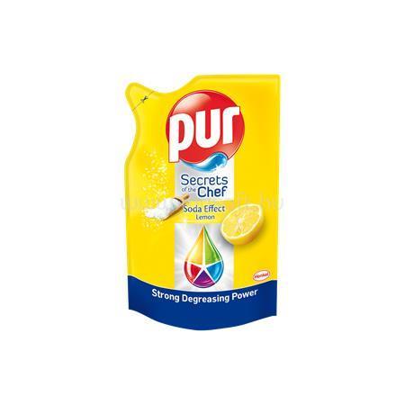 """PUR Mosogatószer, utántöltő, 450 ml, """"Secrets of the Chef"""", citrom"""