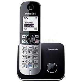 PANASONIC KX-TG6811PDB fehér háttérvil. kihangosítható hívóazonosítós fekete dect telefon KX-TG6811PDB small