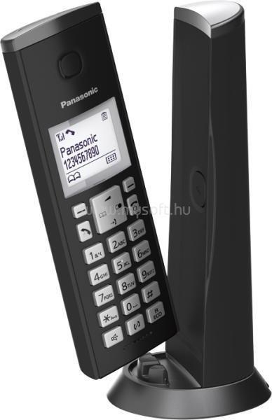PANASONIC KX-TGK210PDB hívóazonosítós fekete dect telefon