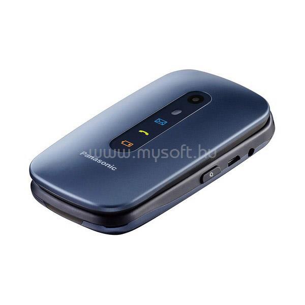 PANASONIC KX-TU456EXCE szétnyitható telefon (metálkék)