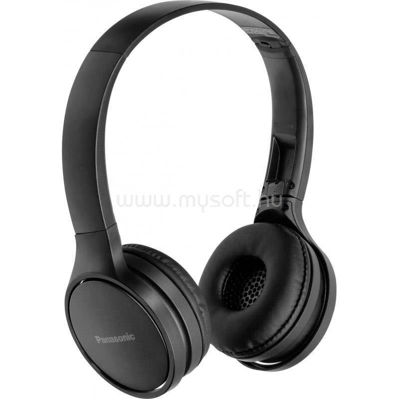 PANASONIC RP-HF410BE-K fekete Bluetooth fejhallgató headset
